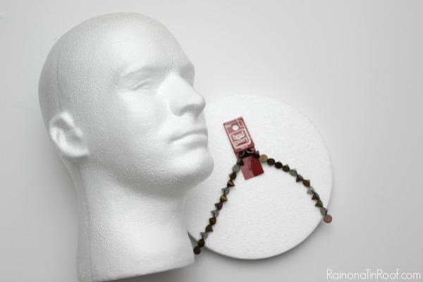 DIY Mohawk Lollipop Holder - A Jonathan Adler Knock-Off
