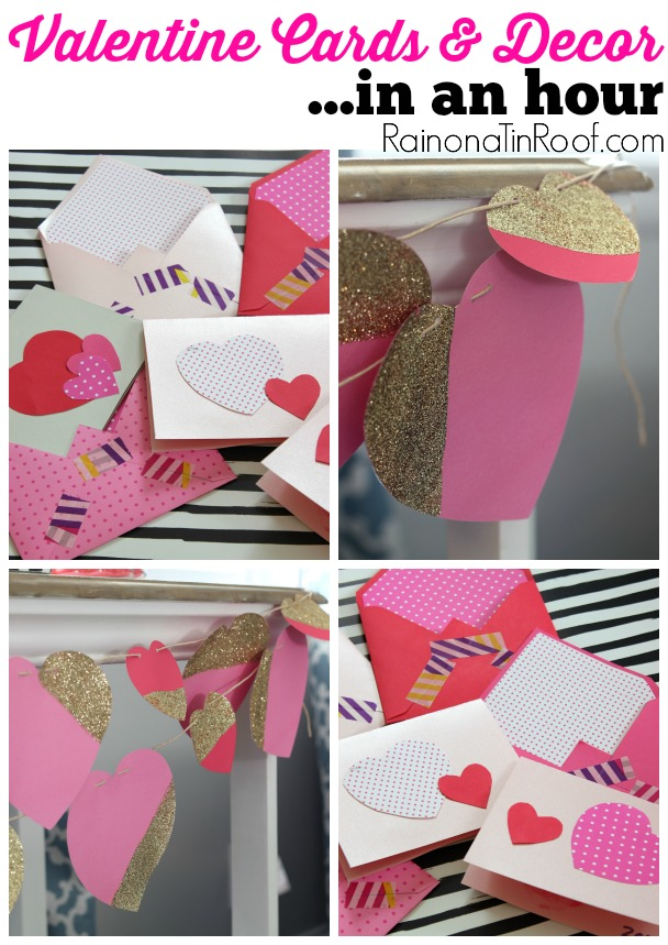 Make Your Own Valentine Day Cards (perfect For Kids!)