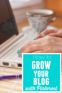 Learn tips and tricks to utilize Pinterest in growing your blog. How to Grow Your Blog with Pinterest