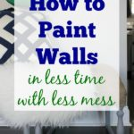 Step by step breakdown of painting walls. Painting 101: How to Paint Walls