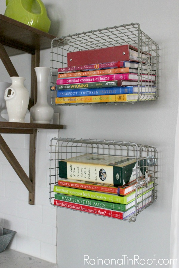Your Cookbooks In An Unconventional Way 10 Kitchen Ideas Decorating Organizing