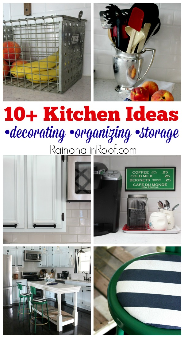10 kitchen ideas for decorating organizing and storage for Kitchen picture decor
