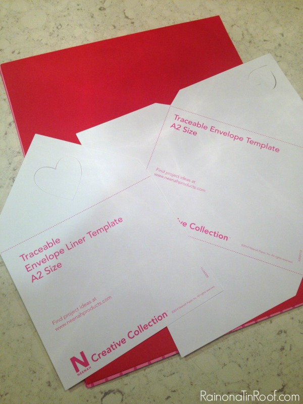 Make your own valentine envelopes!