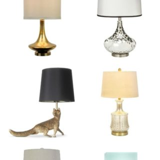 Top 10 Lamps Under $50…because I'm a lamp hoarder…