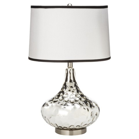Best Lamps Under $50: Silver and Shiny