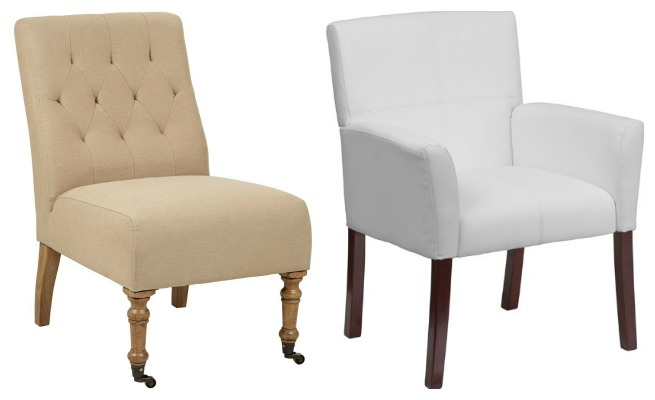 Formal Accent Chairs for $100 or Less