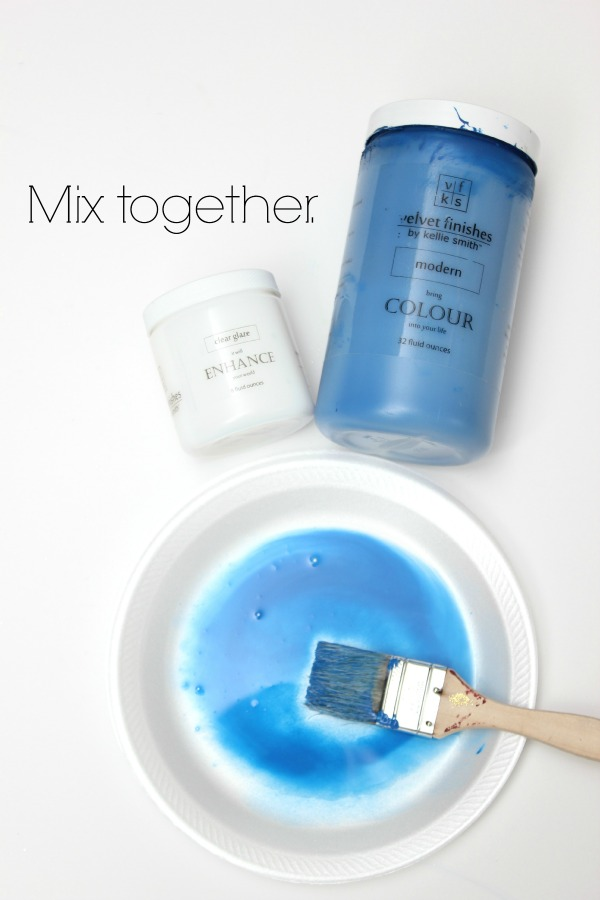 How to make furniture glazes in any color