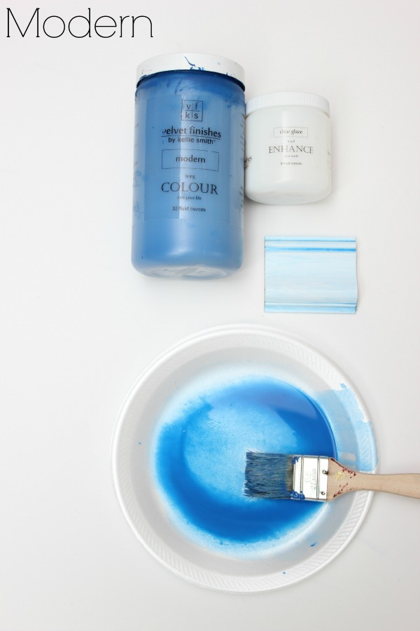 Diy Furniture Glaze Recipe In Any Color Technique Colors