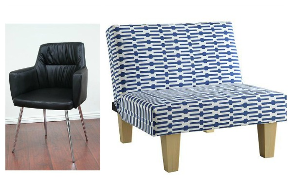 Fun Accent Chairs for $100 or Less