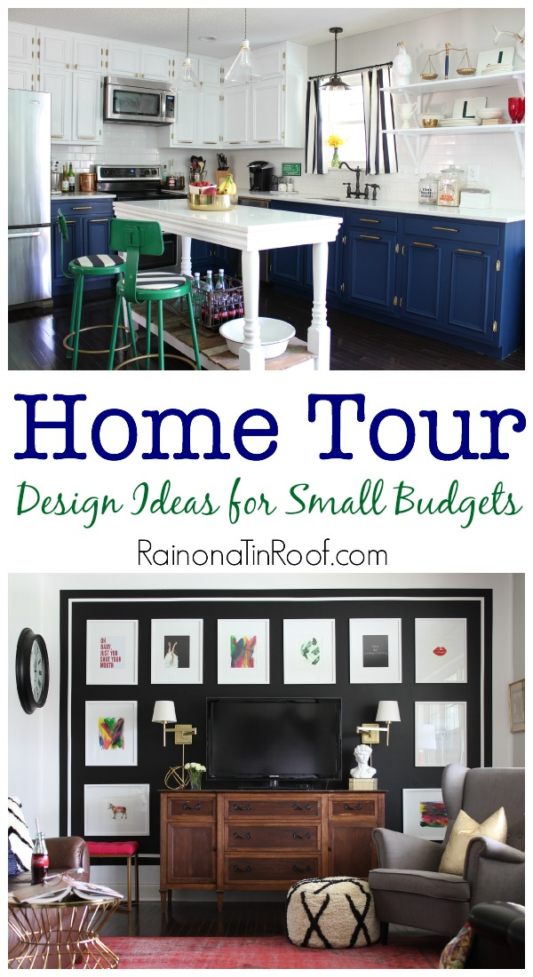 Spring Home Tour: Design Ideas for Small Budgets