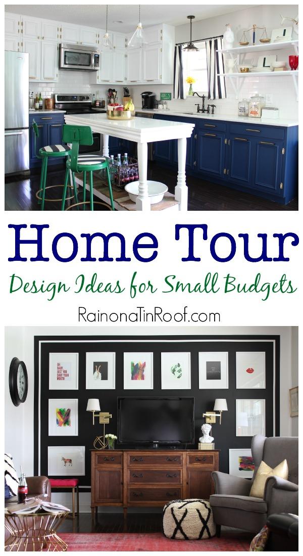 Spring Home Tour: Design Ideas for Small Budgets