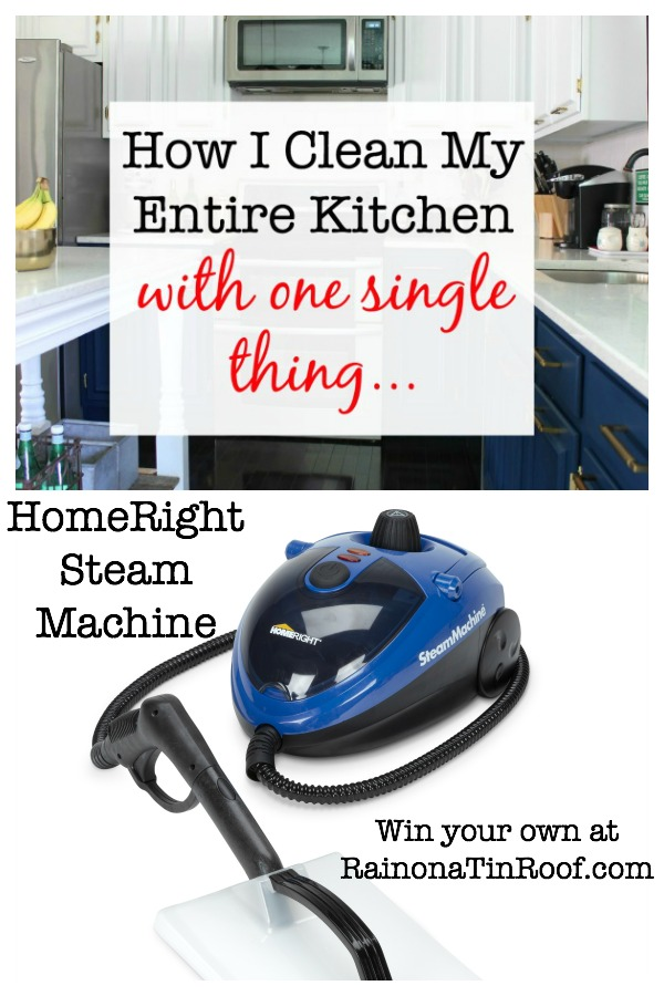 Steam Cleaning a Kitchen Giveaway