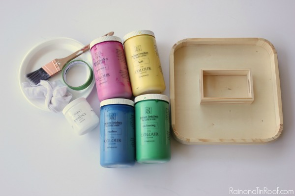 How to Make Colored Wood Stain materials - velvet finishes paint and clear glaze