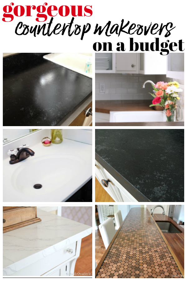DIY Countertops on a Budget