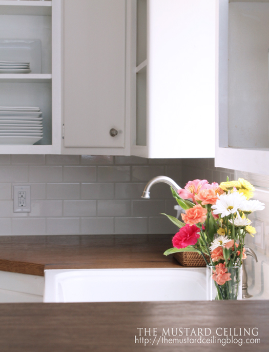Countertops made form doors. Yes, please! Great DIY countertop makeovers that are doable and affordable!
