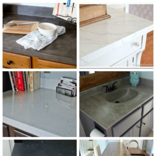 DIY Countertop Makeovers - 9 DIY Countertops