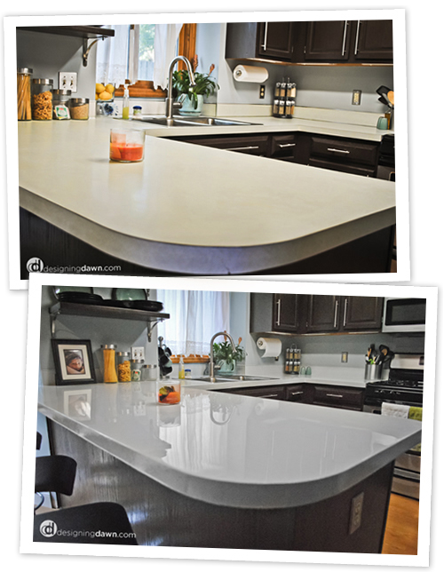 on faux countertop revamp tutorials countertops out easy concrete how makeover the your check to diy kitchen tutorial