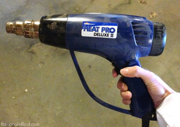 Removing Paint From Wood with a Heat Gun