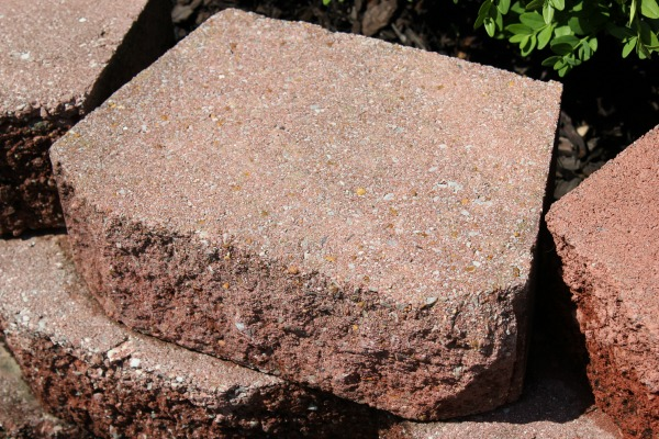 After: How to Clean Concrete Blocks
