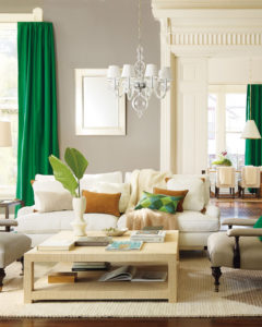 Gorgeous Kelly Green Curtains
