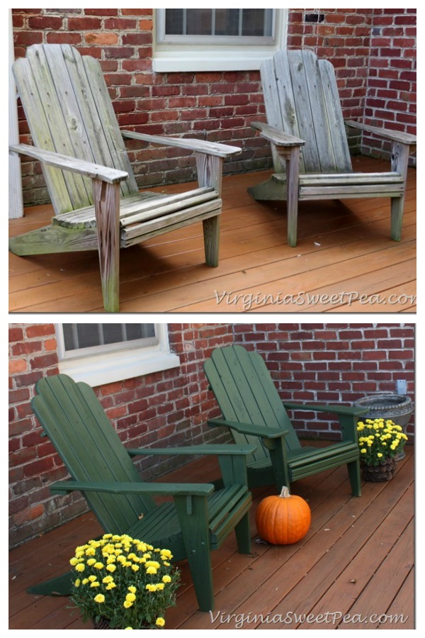 Adirondack Chair Makeover Part 77