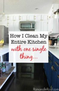 I HAVE to get one of these - its the easiest way to clean your kitchen by far! 9 MUST READ Cleaning Tips!
