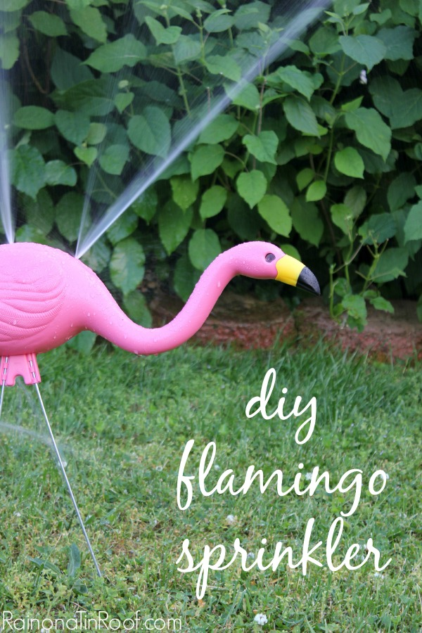 DIY Flamingo Sprinkler | How to Make a Sprinkler | DIY Sprinkler | Sprinkler DIY
