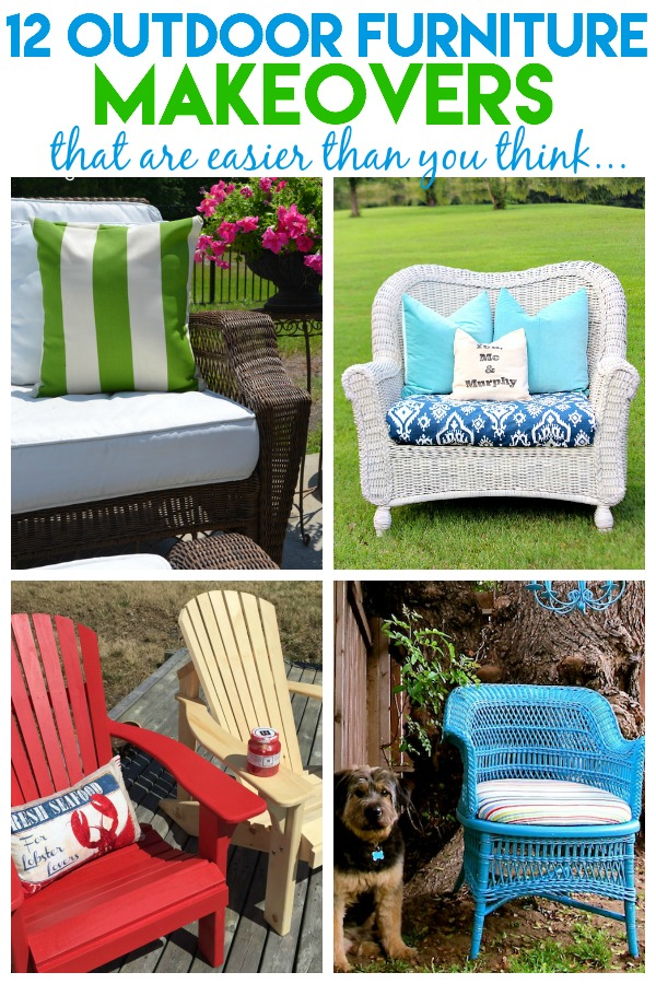 Outdoor Furniture Makeovers | Outdoor Furniture DIY | Outdoor Furniture  Ideas | How To Paint Outdoor