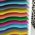 Vintage Paper Sorter Makeover - Those colors!