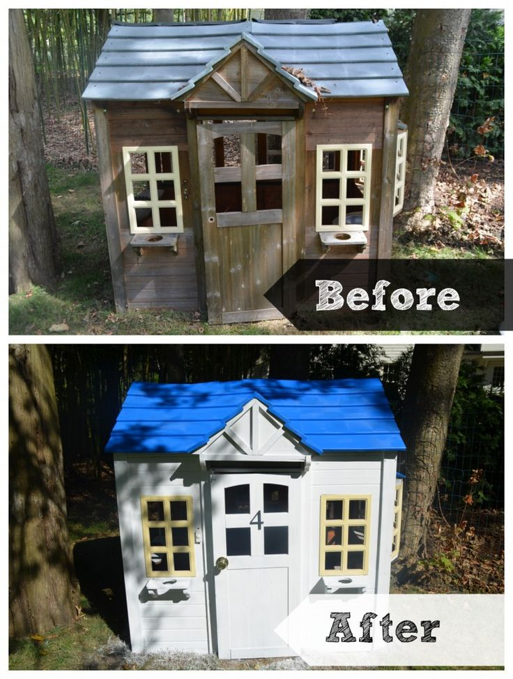 Playhouse Makeover