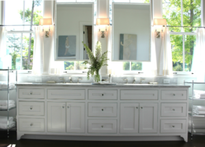 Opt for lots of windows in the bathroom.