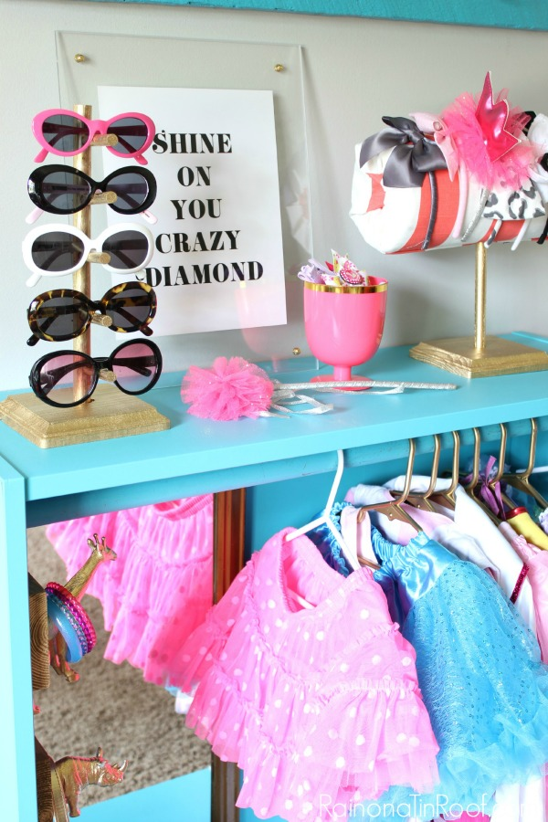 DIY Dress Up Closet - Made from an IKEA Billy Bookcase. Easy IKEA Hack!