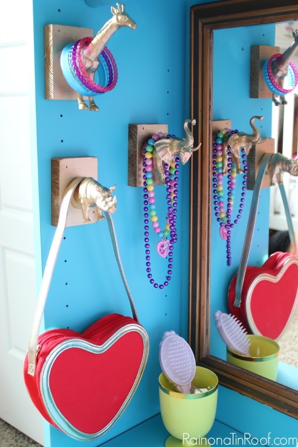 DIY Dress Up Storage - Made from an IKEA Billy Bookcase. Easy IKEA Hack!