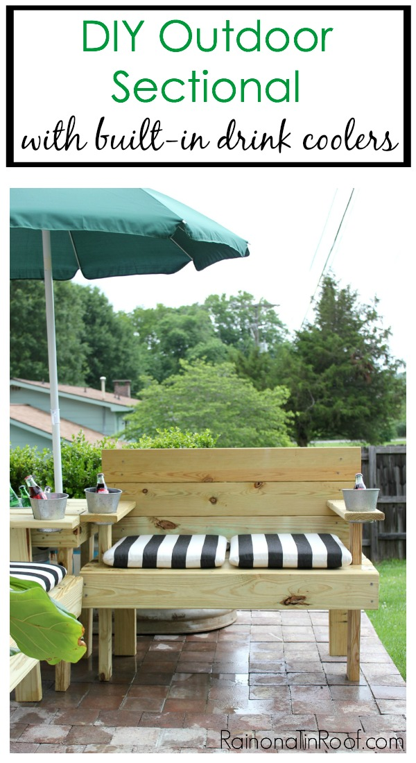 The Ultimate Diy Outdoor Sectional