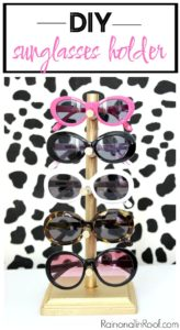 DIY Sunglasses Holder for $5 - Perfect for kids!