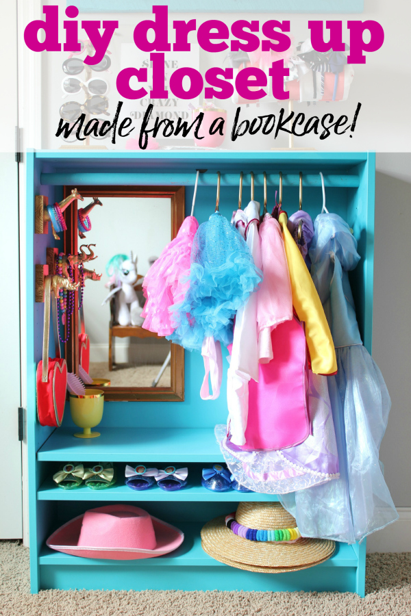 How to Make a Dress Up Center - Rain on a Tin Roof