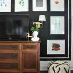 Modern Living Room Ideas: Black & White Gallery Wall