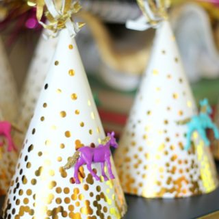 DIY Birthday Party Hats / DIY Party Decor / Horse Birthday Party