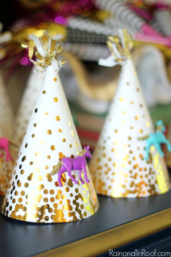 DIY Birthday Party Hats / DIY Party Decor / Horse Birthday Party
