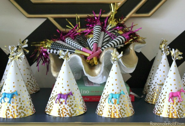 Horse Birthday Party DIY Decor Hats