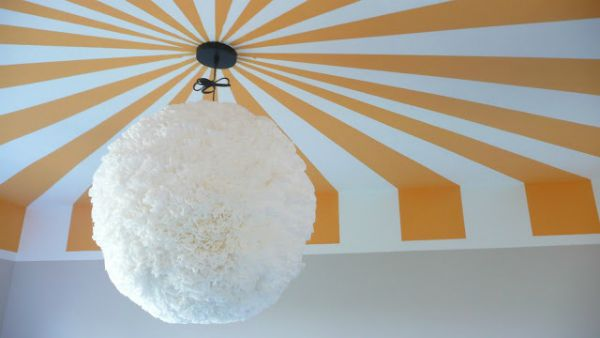The View from the Floor | Painted Ceiling Designs