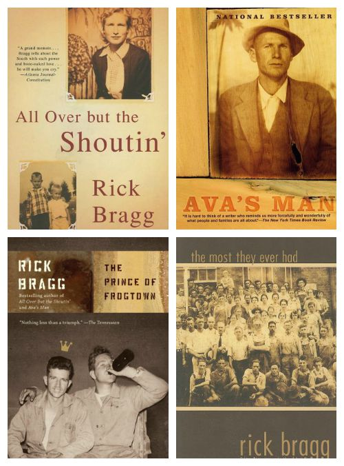 The Best Southern Books - Must Read Books! Anything by Rick Bragg