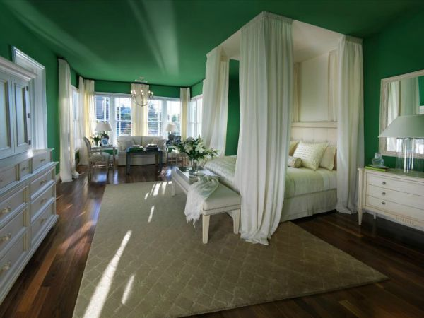 The Best Green Color Combinations For Decorating And White