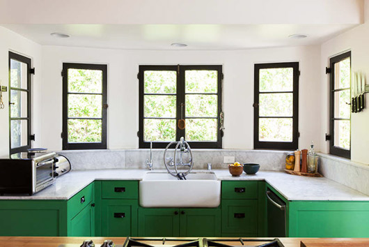 The Best Green Color Combinations for Decorating • Green and White