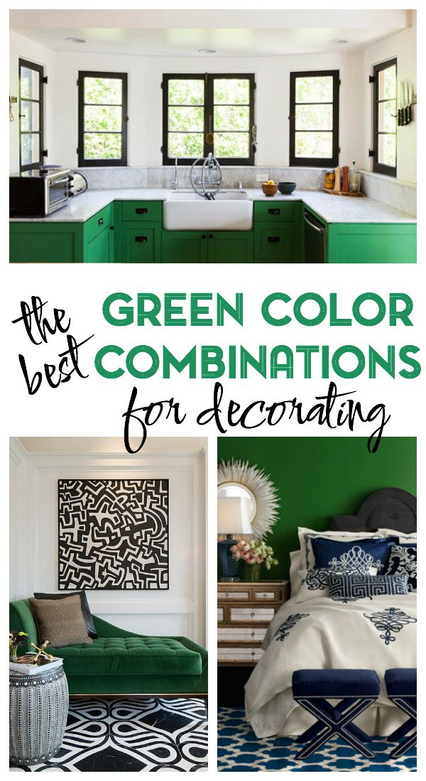 The Best Green Color Combinations for Decorating | Decorating with Green | How to Decorate with Green | Home Decor Ideas