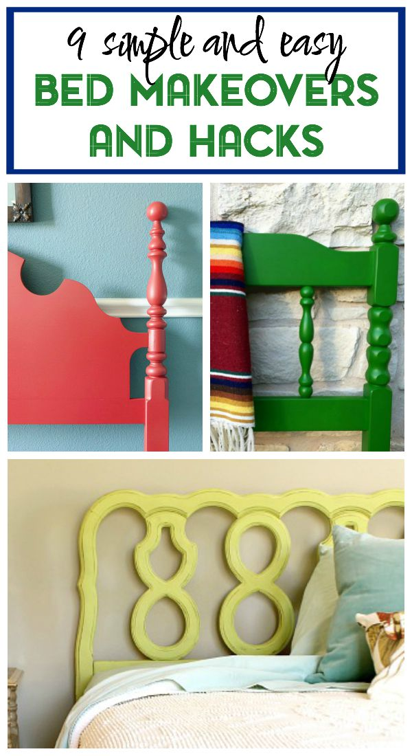 9 Simple bed makeovers