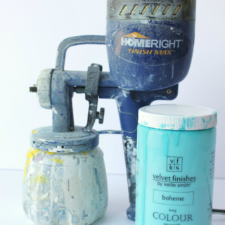 Using Velvet Finishes Paint in a Paint Sprayer