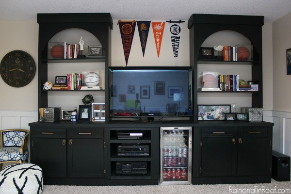 How to Raise Cabinets - Learn how we raised our base cabinets to accommodate for a refrigerator that was taller than the base cabinets.