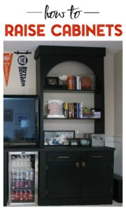 How to Raise Cabinets