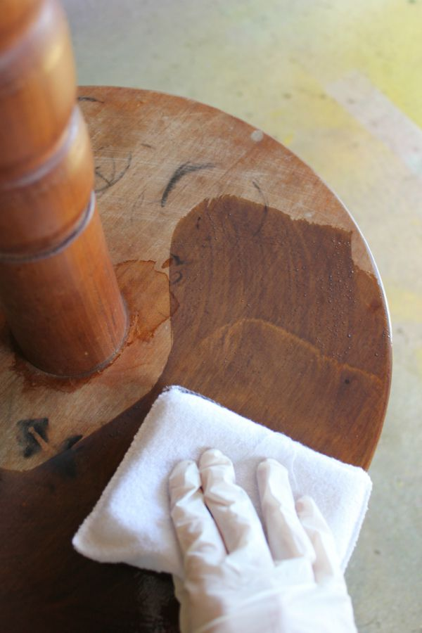 How to Refinish Wood Furniture and Cover Stains without Sanding   must read  if you want. How to Refinish Wood Furniture and Cover Stains Without Sanding or